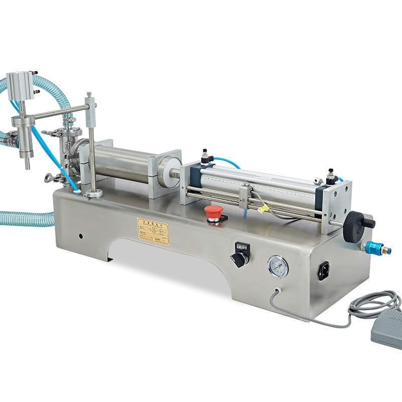 自动液体灌装机工作原理
