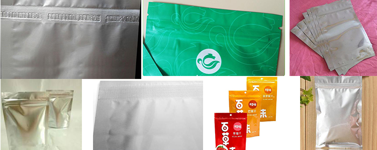 大米塑料袋封口机效果图