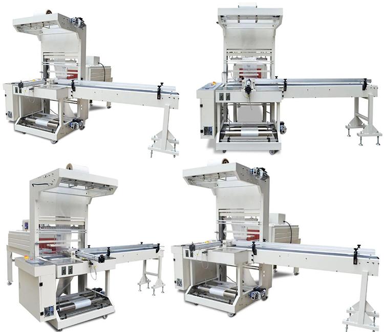 烧烤碳套膜收缩包装机多角度图